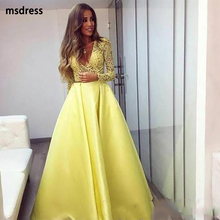 eba475d74b Buy yellow evening gowns and get free shipping on AliExpress.com