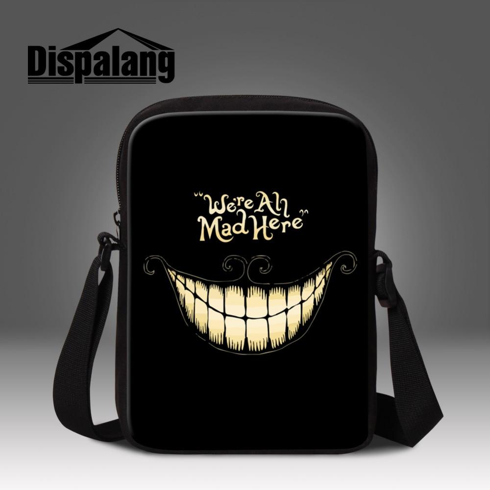 Cool Skull Pattern Mens Messenger Bag Mini School Bag For Kindergarten Boys Crossbody Bag Kids Casual Travel Shoulder Bag