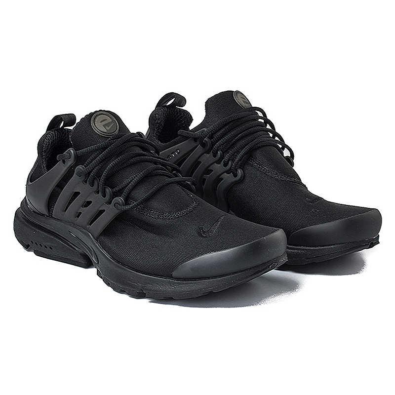 new product 6820e 1c871 ... Nike Air Presto Blackout Black Knight Retro Men s Running Shoes  Original Sport Sneakers 305919-009 ...