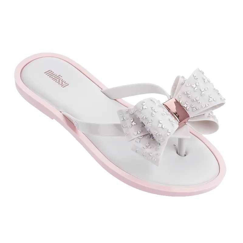 Melissa Women Bow Summer Sandals Slipper Indoor Outdoor