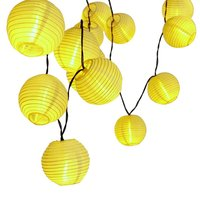 LED Lantern Ball Solar String Lights Outdoor Fairy Lighting Solar Lamp Globe Christmas Home Party Wedding Decoration Night Light
