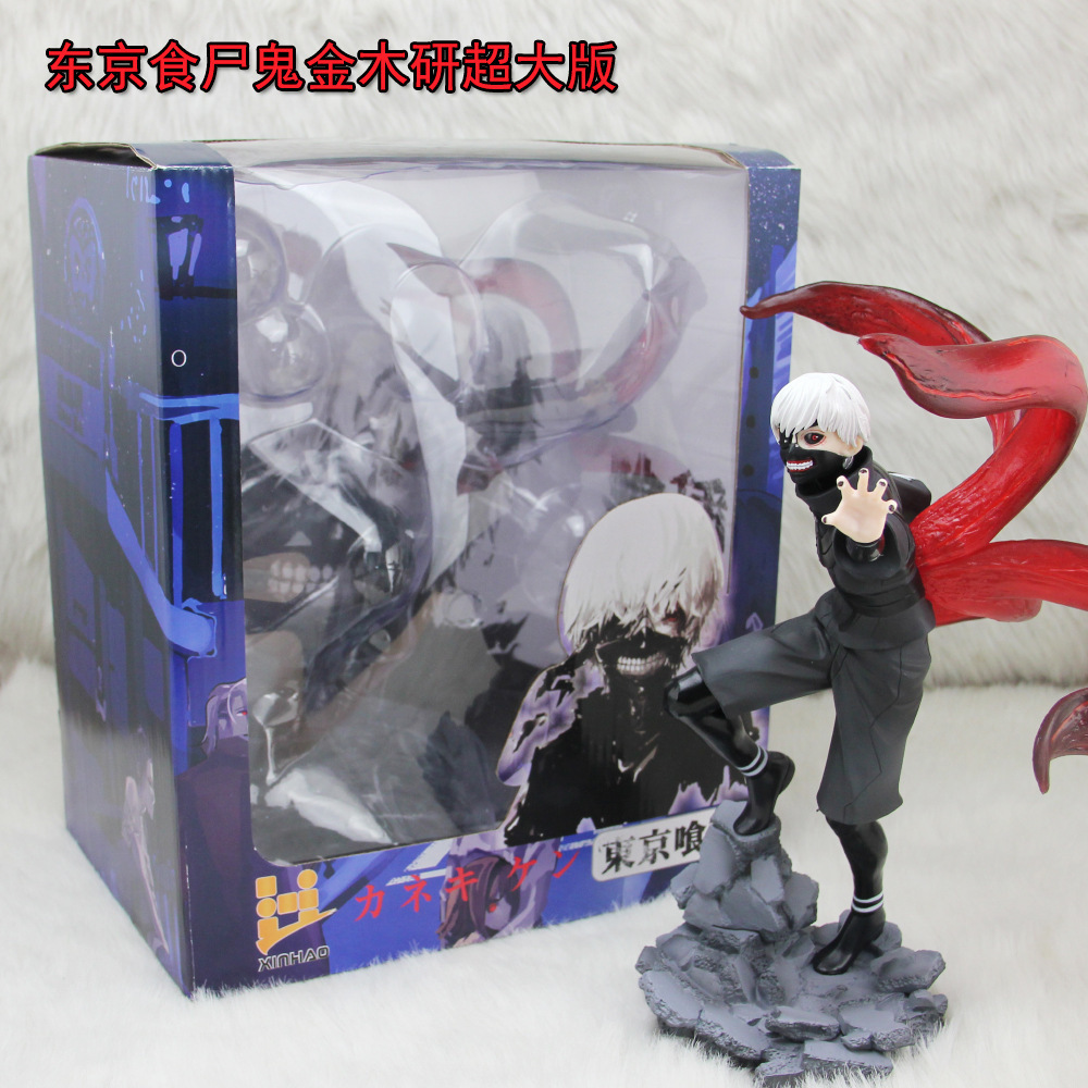 Anime Tokyo Ghoul 2 Edition 23CM Kaneki Ken 1/7 Scale Painted Figure Red & Black Ver. PVC Action Figure Collectible Toys Model hand made 2 loop true bypass black looper guitar switch a b pedal box for guitar accessories
