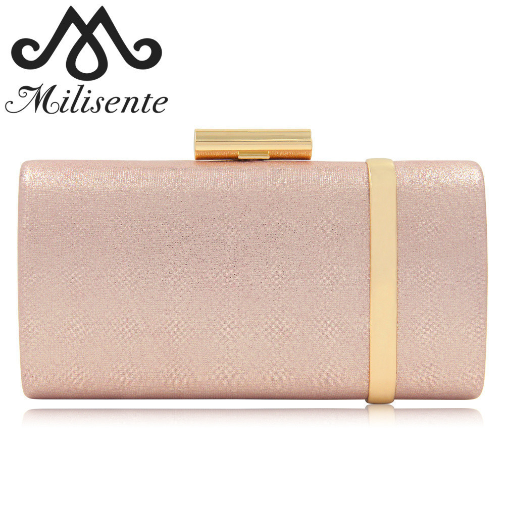 Milisente 2018 New Arrival Evening Bag Women Evening Clutch Bags Top Quality Female Clutches Ladies Wedding Bag milisente brand women evening bags top quality fantasy rose party purse clutches wedding bag