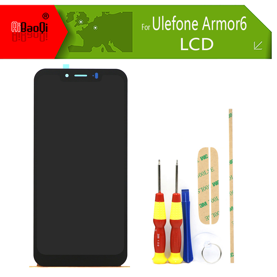 Original 6 2 inch Touch Screen 2246x1080 LCD Display Assembly Replacement For Ulefone Armor 6 Android