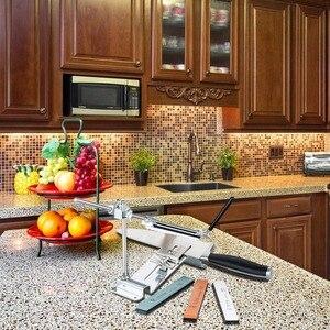 Image 5 - Bıçak kalemtıraş Ruixin Pro III tüm demir çelik profesyonel şef bıçak kalemtıraş mutfak bileme sistemi Fix açı 4 Whetston