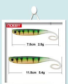 Noeby Pesca MIni Jig Head мягкий воблер 8 шт. 4 см мягкие приманки для басов