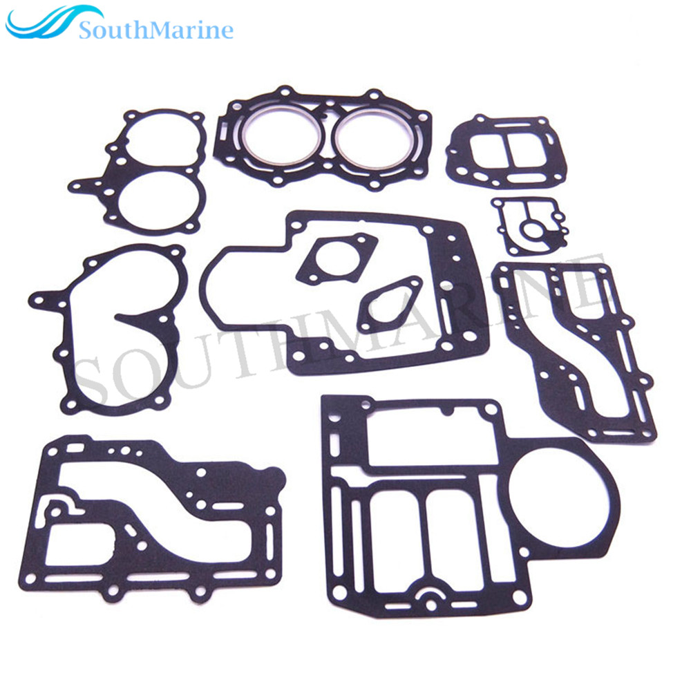 Complete Power Head Seal Gasket Kit Fit Tohatsu Nissan Outboard Engine NS M 9.9HP 15HP 18HP 2-stroke, 2cyl Boat Motor цены