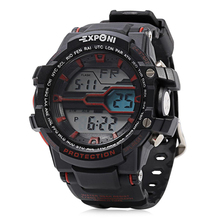 Watch Men Sports Dual Display Wristwatches Men Clock
