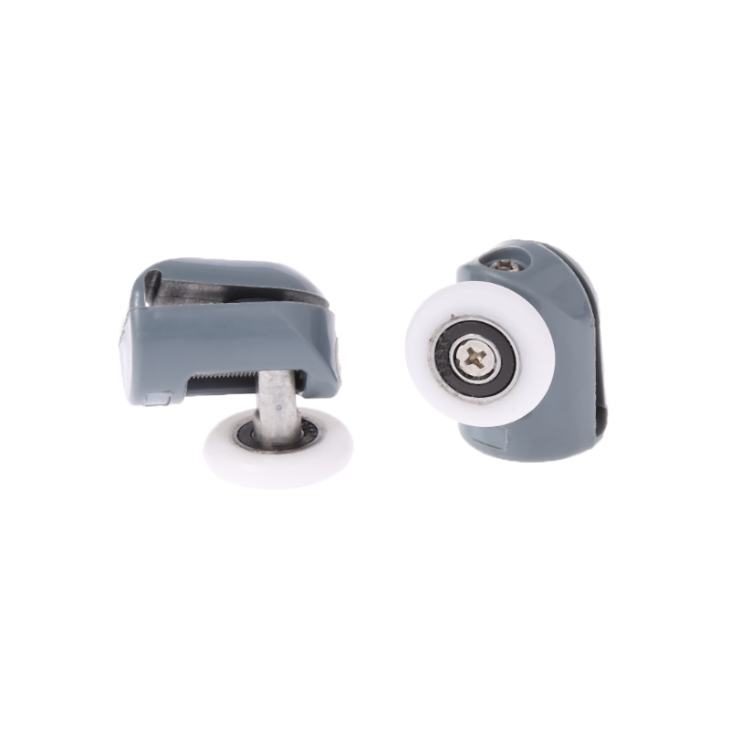 Wheels Runners Pulleys 25mm Diameter bathroom Replacement Parts by Smooth 8 Pcs Shower Door ROLLERS