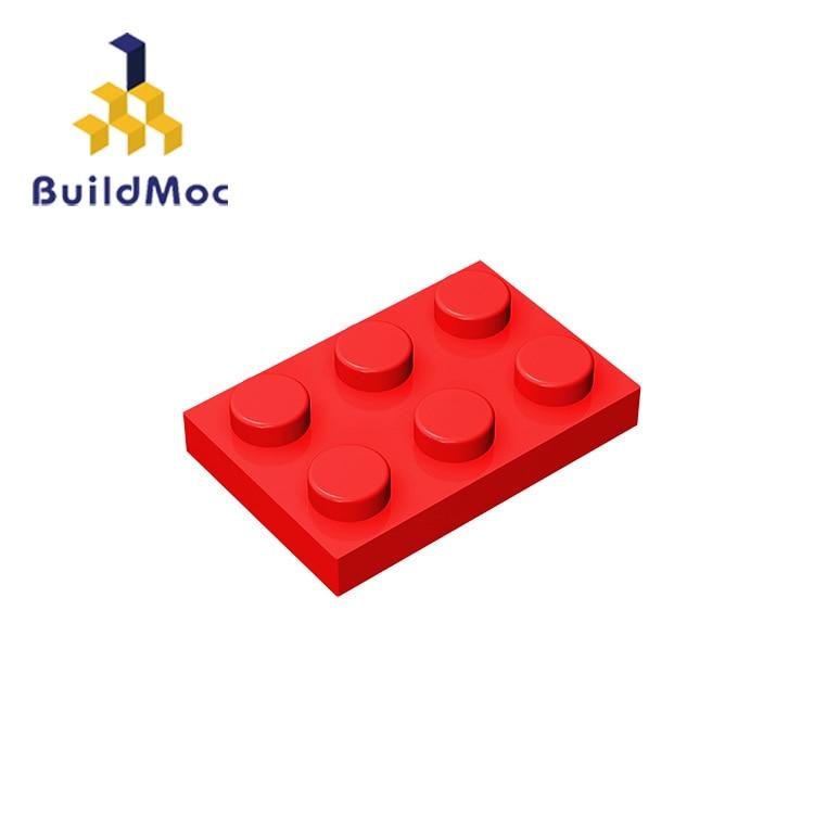 BuildMOC Compatible Assembles Particles 3021 Plate 2x3 For Building Blocks DIY Story Educational High-Tech Spare Toys