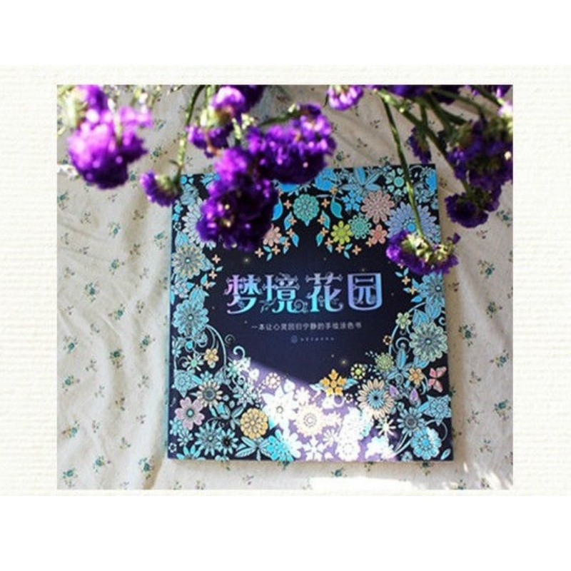 Image 2 - Dream Garden Coloring Books For Children Adult Relieve Stress Secret Garden Kill Time Graffiti Painting Drawing colouring book-in Books from Office & School Supplies