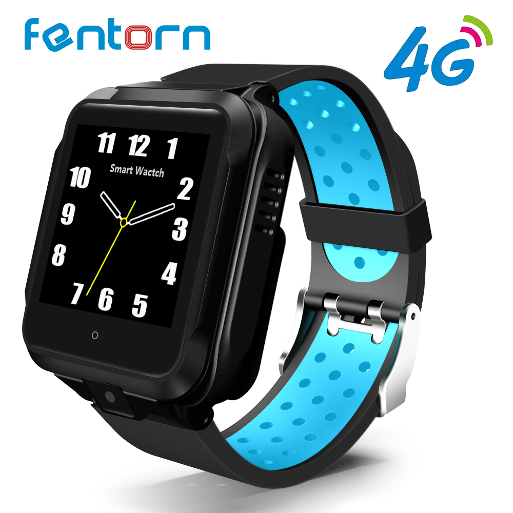 Fentorn M11 2019 4G Smart Watch Android GPS Bluetooth Wifi Camera 1GB 8GB 750Mah Battery Sport