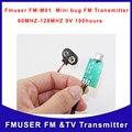 FMUSER FM-M01 Мини ошибка Микро Аудио Передатчик 60 МГЦ-128 МГЦ Слушателя Устройства прослушку dictagraph перехватчик Бесплатная Доставка