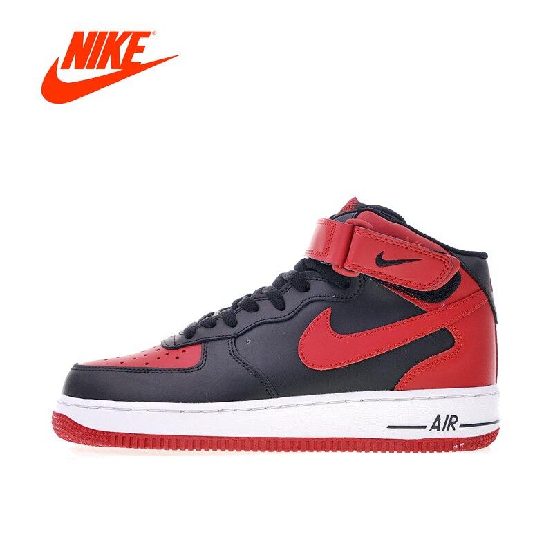 Nuovo Arrivo originale Autentico Nike Air Force 1 Mid '07 Scarpe da pattini e skate Sport Outdoor Scarpe Da Ginnastica di Buona Qualità degli uomini 315123- 029