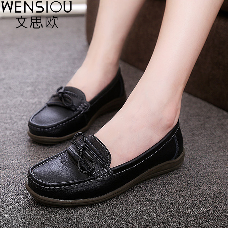 2017 New Fashion PU Leather Women Flats Moccasins Leisure Concise Flat Shoes Loafers Driving women Casual Shoes DT912 2017 new leather women flats moccasins loafers wild driving women casual shoes leisure concise flat in 7 colors footwear 918w
