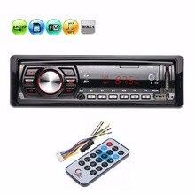 12 В 1 Din 1din автомобиля FM радио стерео аудио MP3 плеер Авто 3,5 мм AUX музыкальный плеер Поддержка USB SD MMC дистанционного Управление Авторадио