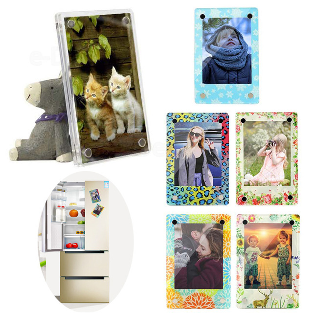 Magnetic Picture Frames for Refrigerator 2.5x3.5\