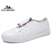ALCUBIEREE Fashion Mens Classic Skateboarding Shoes Trending Casual Sneakers Man Lace-up Flat Sports Outdoor Trainer shoe