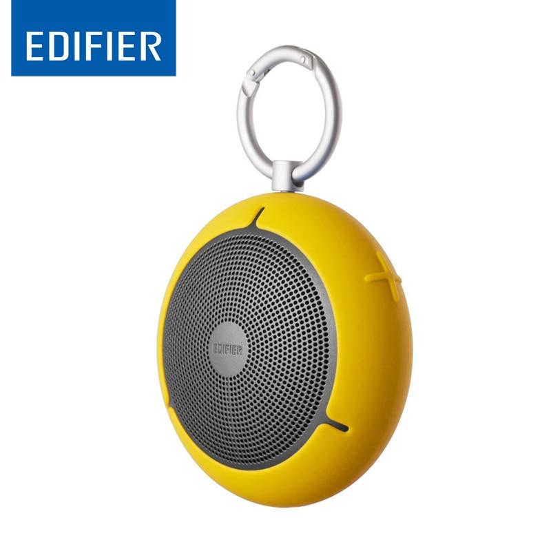 Edifier mp100 ao ar livre mini tipo bluetooth sem fio alto-falante portátil à prova dwaterproof água de áudio breakpoint memória tf card player
