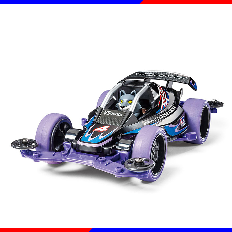 DIY TAMIYA 4WD Car Model MINI 4WD LUPINE RACER 18085 rfdtygr hg professional tool for tamiya mini 4wd auldey mini 4wd mini 4wd 1set lot