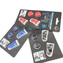 트리거 익스텐더가있는 PS4 용 플레이 스테이션 4 용 엄지 그립 FPS 아날로그 L2 R2 확장 트리거 버튼