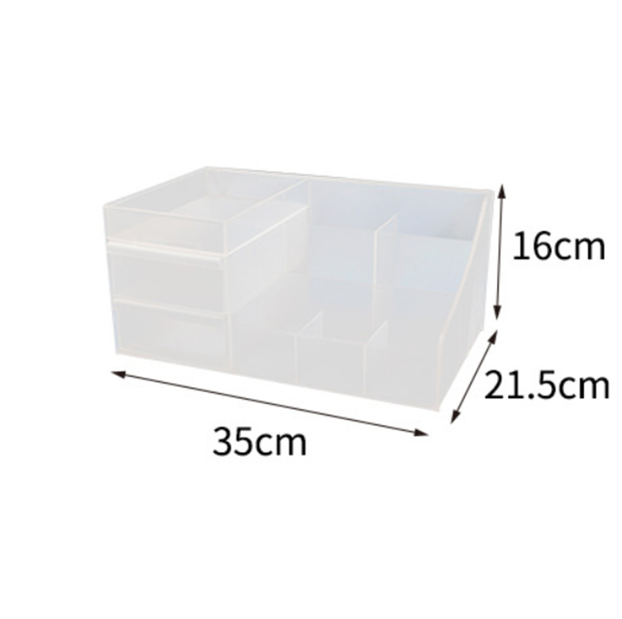 HTB1ZtSxXojrK1RkHFNRq6ySvpXah - Plastic Makeup Organizer Two-Layers Jewelry Box Acrylic makeup storage containers
