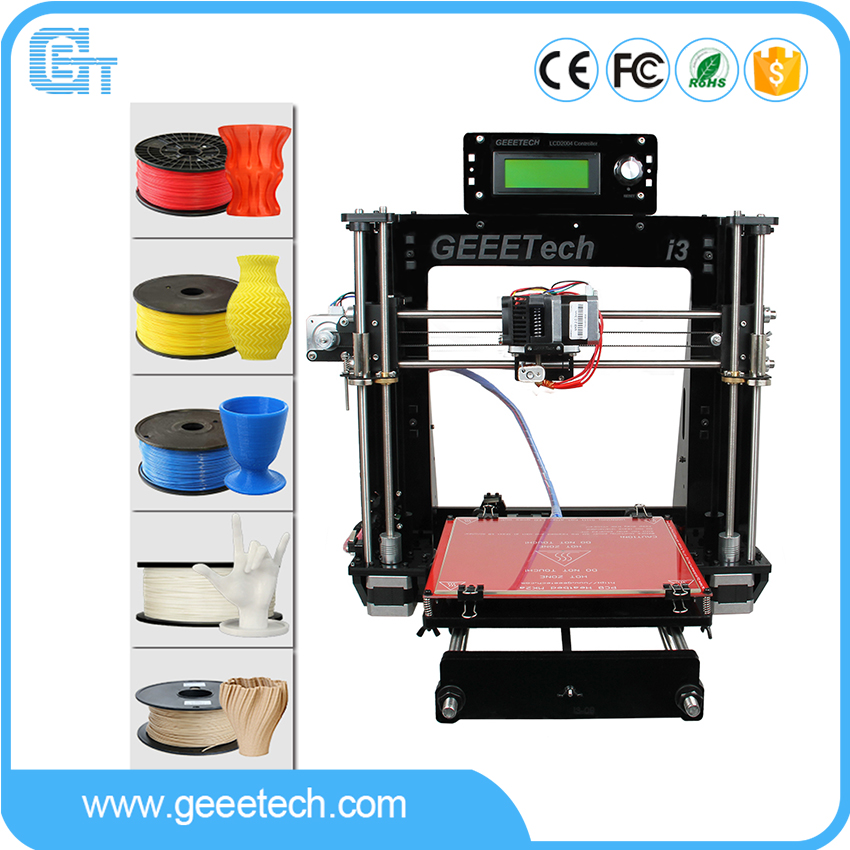 Geeetech Prusa i3 Pro B 3D Printer Acrylic Frame High Precision Impressora DIY Kit LCD Free