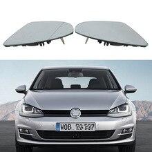 2 шт. зеркало автомобиля Стекло для VW Golf 7 MK7 GTI GTD 2013 2014 2015 2016 2017 сзади автомобиля с подогревом зеркало Стекло