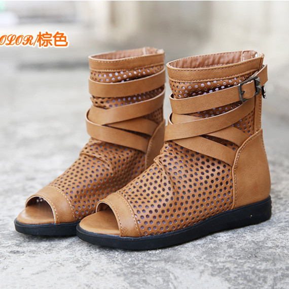 Summer Clearance Girls Shoes~~2015 Summer Boots Gladiator Girls ...