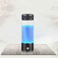 400 ML Butelka USB Akumulator Przenośny Rozmiar Inteligentny Wodoru Bogate Jonizator Wody Zdrowe Przeciwutleniacze Butelki Wody