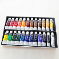 Из США Liquitex специальный акрил Краски набор 12/24 цветная трубка Установка Art Краски ing 22 мл каждая Цвет натуральная