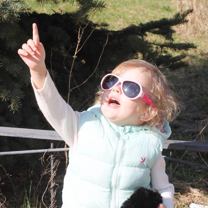 Matte Red//Grey Kids Rubber Polarized Sunglasses Unbreakable Children Girls Boys Age 3-12