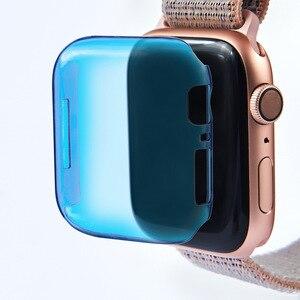 Image 5 - 2019 Мягкий ТПУ полный Смарт часы чехол для Apple Watch 4 3 2 1 40 мм 44 мм защитный ТПУ прочный защитный чехол для Apple Watch