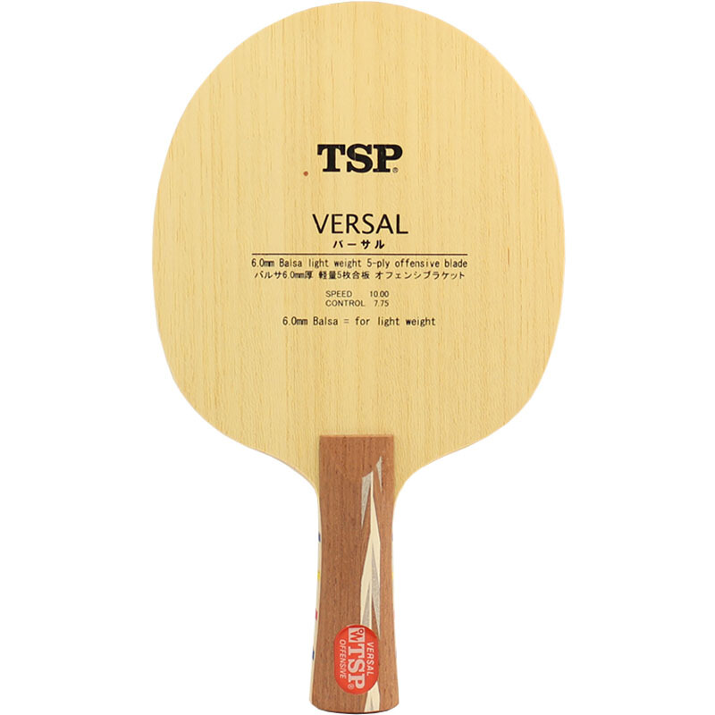 TSP VERSAL Table Tennis Blade (Balsa Light Weight Offensive) Racket Ping Pong Bat progetto сандалии