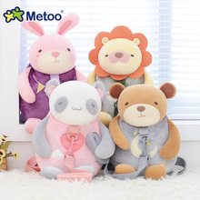 Metoo traction package of mass animal children toy with safety harness plush toys baby backpack panda