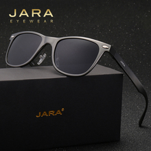 JARA Women Rivet Fashion Squar Polarized Sunglasses Aluminum Magnesium Frame Men Sun Glasses Female Eyewear Accessories 8154