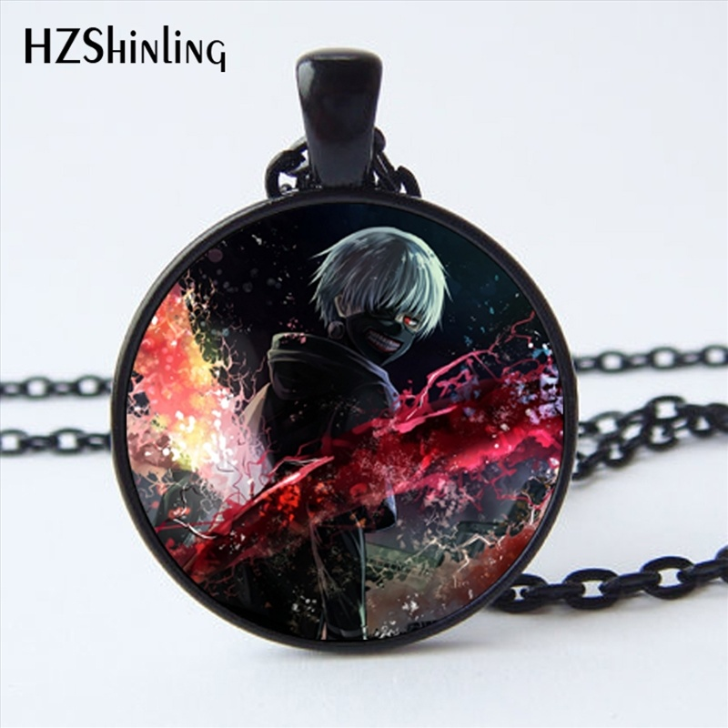 2017 New Arrival Tokyo Ghoul Kaneki Ken Necklace Handmade Glass Dome Tokyo Ghoul Pendant Jewelry Steampunk Necklace HZ1-in Pendant Necklaces from Jewelry & Accessories on Aliexpress.com | Alibaba Group