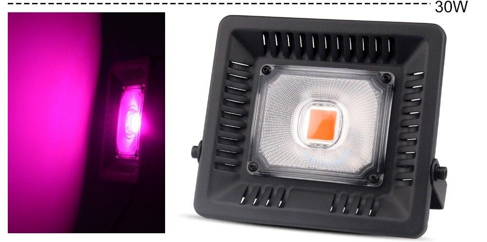 30W50W100W150W LED lampe de croissance de plantes à spectre complet, lampe de serre de jardinage d'intérieur