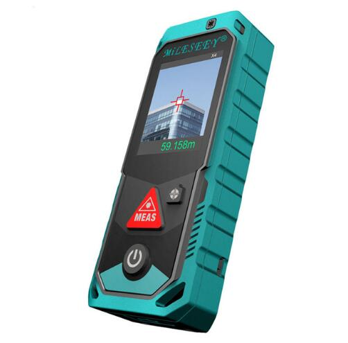 Mileseey P7 80M Bluetooth Laser Rangefinder with Rotary Touch Screen Rechargerable Laser Meter lixf mileseey p7 bluetooth laser rangefinder with rotary touch screen rechargerable laser meter 200m