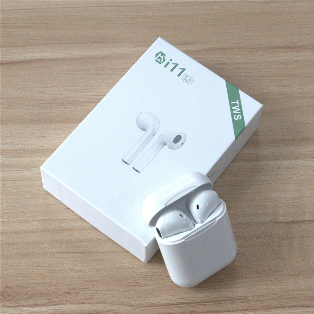Original I11-TWS Twins Wireless Earbuds Mini Bluetooth V5.0 Stereo Headset Earphone For All Kinds Of Smart Phone