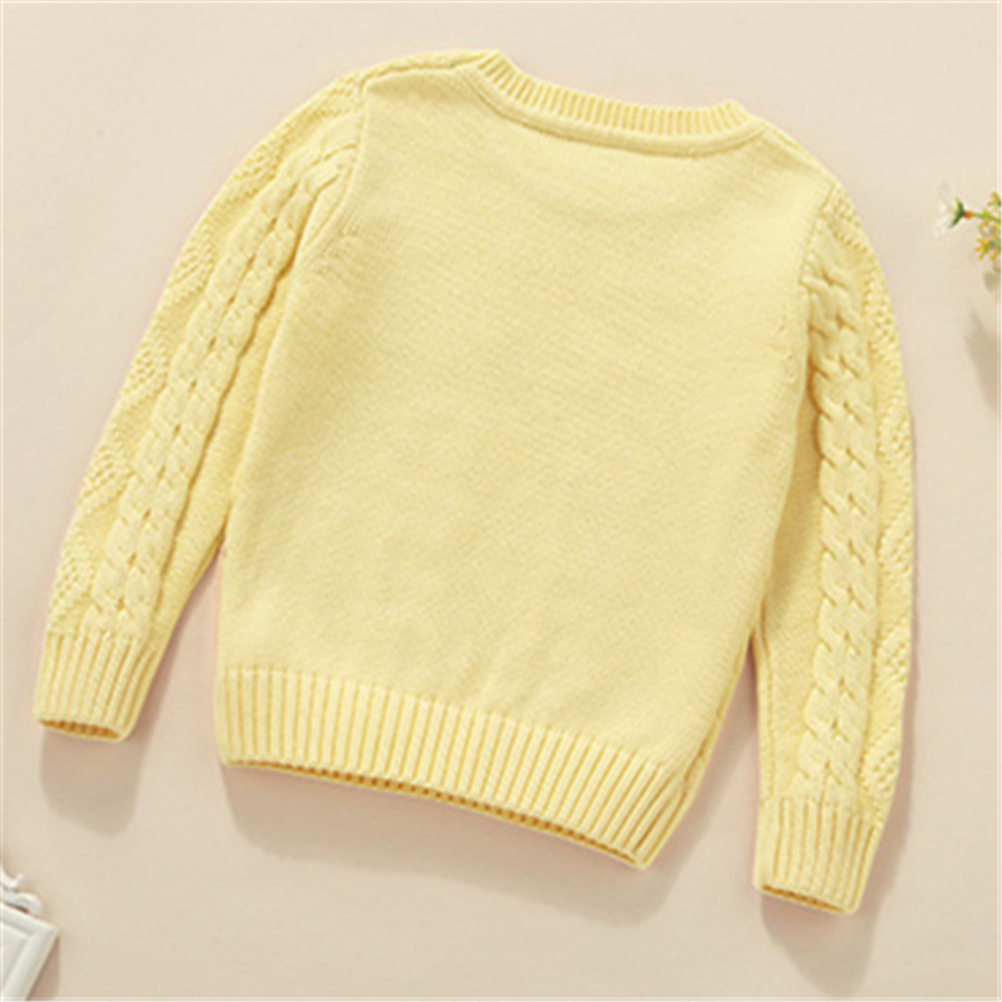 Boys Sweaters Kids Winter Sweater Children Clothing Boys Fashion Thick Long Sleeve Boys Pullover Cotton Sweaters O-neck 60W0037