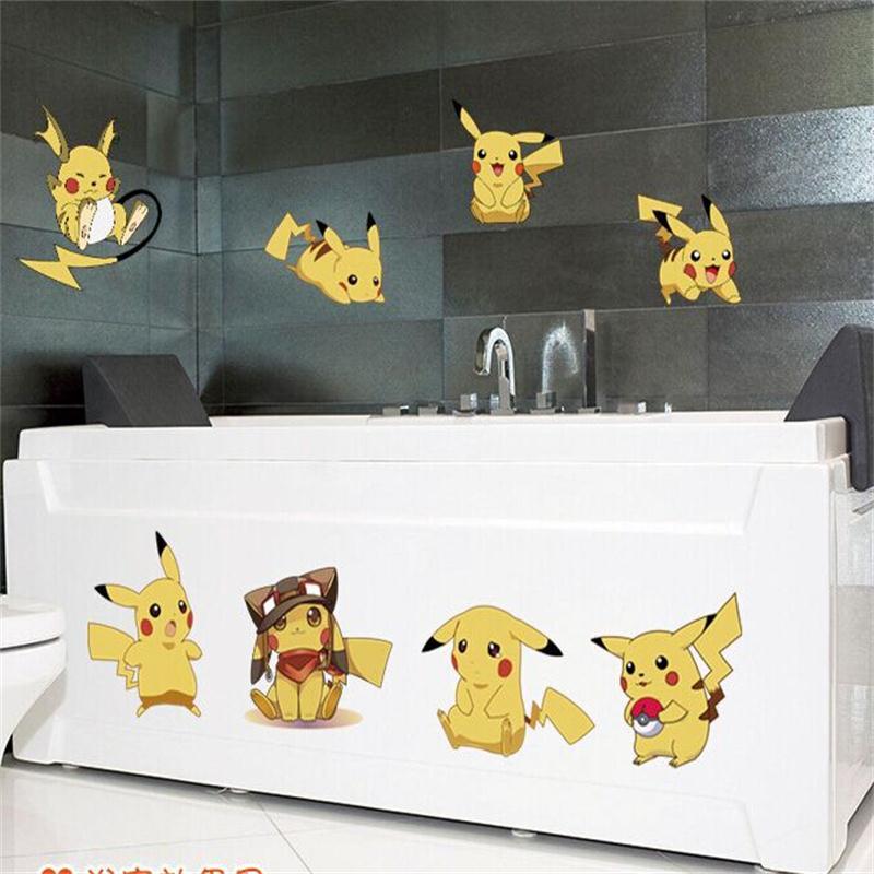 cartoon-amination-font-b-pokemon-b-font-poster-stickers-font-b-pokemon-b-font-go-pikachu-wall-stickers-kids-bedroom-mural-wall-decals-home-decor