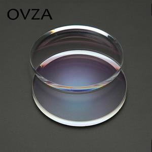 Image 5 - OVZA 1.67 Ultra   Thin Scratch   Resistant Aspheric Resin Lens Plus Film Plus Hard Prescription Lenses Radiation Myopia Glasses