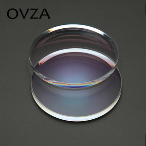 Image 5 - OVZA 1.67 Ultra ince Çizilmeye Dayanıklı Asferik Reçine Lens Artı Filmi Artı Sert Reçete Lensler Radyasyon Miyopi Gözlük
