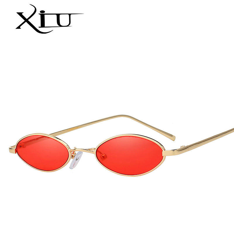 Xiu vendimia Gafas de sol mujeres del ojo de gato diseñador de la marca de lujo Sol Gafas retro pequeño rojo señoras Sol cristal negro gafas UV400