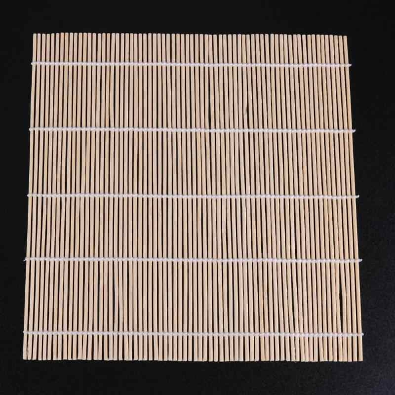 일본 스시 쌀 롤링 롤러 대나무 diy 메이커 스시 매트 요리 도구 주방 음식 24*24 cm