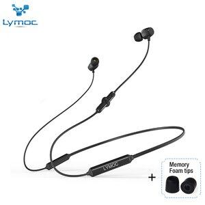 Image 3 - LYMOC Q5 Bluetooth kulaklık spor kablosuz kulaklık 48Hrs Talktime gerdanlık Stereo kulaklık koşu için iPhone Xiaomi Huawei