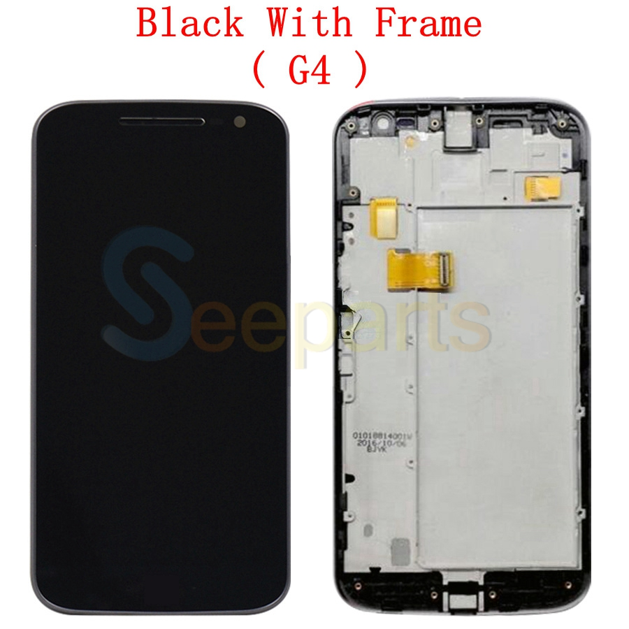 Image 5 - For Motorola Moto G4 LCD Display Touch Screen Digitizer Assembly XT1622 xt1625 For MOTO G4 Plus LCD Display Replacement PartsMobile Phone LCD Screens   -