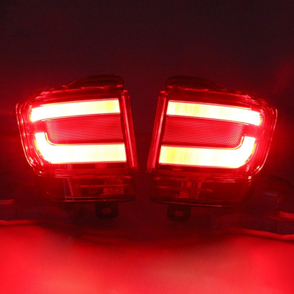 Land Cruiser üçün Vland LED arxa bamper reflektor yüngül - Avtomobil işıqları - Fotoqrafiya 6