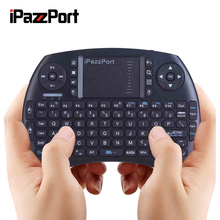 ipazzport wireless keyboard and Air Mouse Gaminge Keyboard With Backlight For Smart TV, Android TV Box, HTPC, Raspberry Pi,